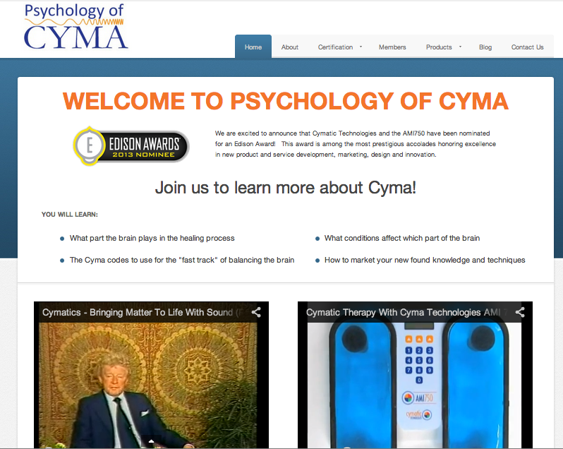 Psychology of Cyma