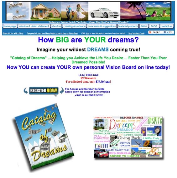 Catalog of Dreams