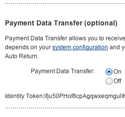 PayPal Payment Data Transfer (PDT) – Getting PayPal Information Returned to Your Site