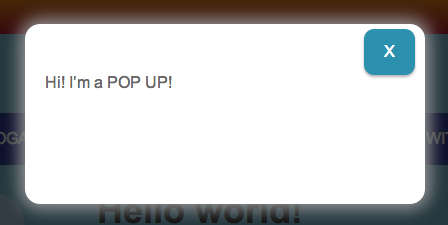 how to add a website pop up